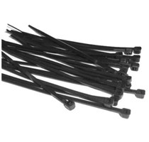 Black 300 x 4.6mm Cable Ties